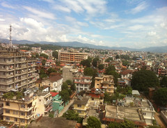 La gran densidad de población de Katmandú es muy vulnerable a los terremotos. Crédito:Naresh Newar/IPS (Agencia de Noticias Inter Press Service) Tags: nepal terremotos desastres katmandú asiameridional