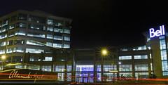 Bell Headquarters (bonaphoto) Tags: bell 2470l alexandergrahambell canadamontrealilsdessoeursnunsislandnightlongshutter