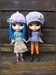 More hats and jumpers