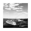 Bon Voyage (Monochrome Visions) Tags: vacation sky holiday ferry clouds canon square blackwhite harbour horizon sydney sails australia operahouse sydneyharbour sydneyoperahouse bonvoyage cruiseliner dexodexo douwedijkstra