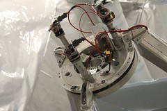 "Secondary mirror focus actuators • <a style=""font-size:0.8em;"" href=""http://www.flickr.com/photos/27717602@N03/8228770542/"" target=""_blank"">View on Flickr</a>"