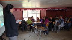 trabajo con organizaciones costeras en hualaihué