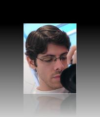 Hello ;¬| (Leonardo Martins) Tags: selfportrait me espelho self myself lens lumix mirror retrato autoretrato eu g2 lente cabelinho i