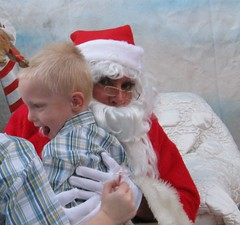 IMG_8444 (drjeeeol) Tags: santa animal will fav triplets toddlers 2012 refuge backtonature 50monthsold