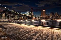 Manhattan Lights (bgspix) Tags: world city nyc newyorkcity bridge sea usa ny newyork architecture brooklyn night america canon us cityscape manhattan cities financialdistrict eastriver bigapple lowermanhattan ef24105mmf4lisusm manhattanbynight eos60d