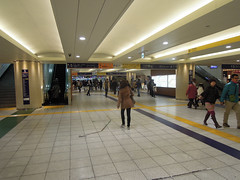 Kita-Senju station, ground level (kevincrumbs) Tags: station tokyo trainstation   adachi adachiku kitasenju senju      kitasenjustation