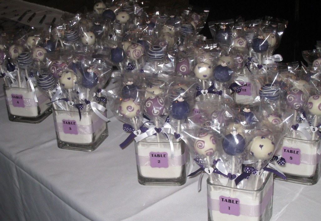 Cake Pop Wedding Favors Toronto
