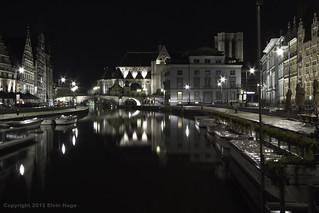 Graslei / Gent / Belgium