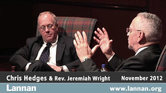 Chris Hedges in Conversation with Reverend Jeremiah Wright in Chicago, IL on 12 November 2012 (lannanfoundation) Tags: chicago writer chrishedges reverendjeremiahwright culturalfreedom lannanfoundation