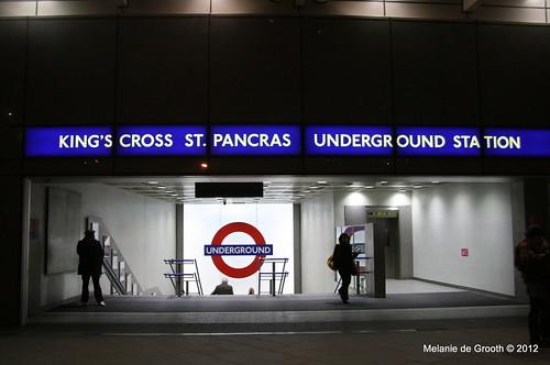 Kings Cross Tube Station