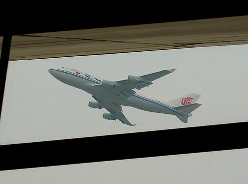 Air China Boeing 747-4J6 B-2472. China's Air Force 1
