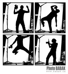 BABAK (BABAK photography) Tags: bw white selfportrait black silhouette photographer 85mm babak jumpshot hairfashion hairphotography nycphotographer photographerselfportrait behindthescenesphotoshoot behindthescenesbabak nahaphotographer babaksilhouette dirthlights