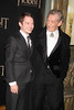 Elijah Wood and Ian McKellen, Premiere of 'The Hobbit: Unexpected Journey' New York City