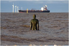 ANOTHER PLACE (car 67) Tags: beach liverpool mersey cosby anthonygormley anotherplace