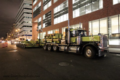 J. Supor | Peterbilt 379 w/ dual Nicholas 8 line trailers. (Vinny S.) Tags: nyc ny tower truck freedom j worldtradecenter spire wtc trucks heavy peterbilt haulage freedomtower nycconstruction peterbilt379 heavyhauler worldtradecenterconstruction supor freedomtowerconstruction jsupor
