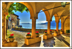 Hermitage of Santa Caterina arcades (Explored #385 12/12/2012) (Tiziano Photography) Tags: flowers sky panorama lake water landscape lago arcades fiori hermitage acqua hdr lagomaggiore santacaterina arcate mygearandme mygearandmepremium mygearandmebronze rememberthatmomentlevel4 rememberthatmomentlevel1 rememberthatmomentlevel2 rememberthatmomentlevel3 rememberthatmomentlevel7 rememberthatmomentlevel9 rememberthatmomentlevel5 rememberthatmomentlevel6 rememberthatmomentlevel8 rememberthatmomentlevel10