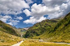 In cima all'Italia (cesco.pb) Tags: sky italy alps clouds canon italia nuvole cielo alpi montagna montains altoadige sudtirol valleaurina casere vettaditalia predoi alpiaurine efs1855mmf3556is canoneos1000d