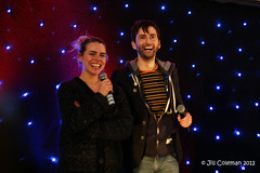 David Tennant and Billie Piper (visionthing64) Tags: midnight convention billiepiper davidtennant