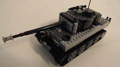 WWII German Tiger I (Michael K 12) Tags: war europe gun lego military wwii german wars moc