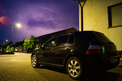 @home (MAGIC PASSION * PHOTOGRAPHY *) Tags: monster vw golf volkswagen 4 thunderstorm lightning iv monsterenergy maximiliansau sommergewitter magicpassionphotography hooleechit