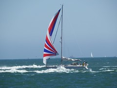 Portsmouth America's Cup 2016 Spectator Boat on the Solent (Nick.Bayes) Tags: admirals cup 2016 spectator boat portsmouth americas