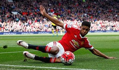 Rashford (MekyCM) Tags: soccer premier league football premierleague england wales britain unitedkingdom arsenal chelsea liverpool mancity united futbol futebol barclays leicester pitch supporters celebration southampton palace westham everton spurs newcastle stoke swansea sunderland watford westbrom bournemouth norwich villa