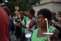 Peace Vigil -11 (MosaicMarj) Tags: brooklyn peace unity faith parkslope vigil candlelightvigil grandarmyplaza blacklivesmatter ericladams altonsterling philandocastile delrawnsmall whitepeopleforblacklives 3in3days
