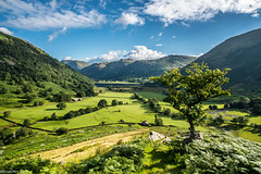 Brotherswater! (dazzbo1) Tags: brotherswater ullswater lakes lake district cumbria view beautiful valley hike walk sky cloud tree