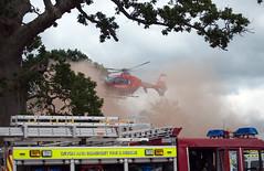 DAAT In Action (Peaf79) Tags: devonairambulance helicopter middevonshow airambulance daat ambulance