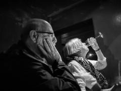 Wine Tasting (1mpl) Tags: olympusomdem1 germany edigereller travelphotography portraitsbw monochrome niksilverefexpro