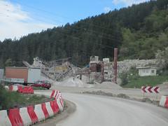 Mining operation, Highway 29 west of Sjenica, Serbia (Paul McClure DC) Tags: serbia srbija zlatibor sjenica balkans may2016 architecture scenery