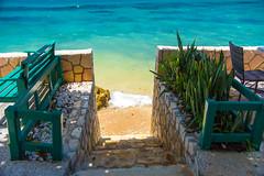 _JAM7450 (Jamil D750) Tags: jamaica smoked marlin sunny ocean beach oceanview view restaurant tropical blue sky waves nikon nikond750 green yellow orange stone