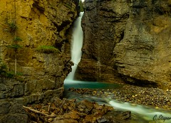 Johnston Canyon (christianstapor) Tags: waterfall longexposure fujifilmxt10 fujifilm canada johnstoncanyon landscape banffnationalpark banff alberta