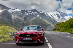 Mustang in the Mountains (Jon Ames) Tags: hochalpenstrasse grossglockner mustang