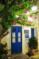 GrEEcE is... (sifis) Tags: greece blue door sakalak syros island cyclades nikon d700 2470