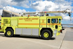 Gary Fire Department Rescue 2 (nick123n) Tags: gary fire department rescue arff airport gyy indana surpressions truck rig station crash emergency urgent lime green