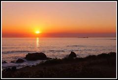Coucher de soleil - le der Noirmoutier (Les photos de LN) Tags: sunset rochers lumire couleurs ledenoirmoutier vende