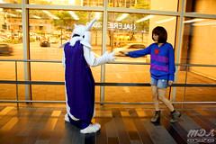 Undertale 42 (MDA Cosplay Photography) Tags: undertale frisk chara napstablook asriel cosplay costume photoshoot otakuthon 2016 montreal quebec canada undertalecosplay fun