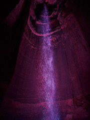 Ruby Falls (Joey Hinton) Tags: olympus omd em1 ruby falls cave lookout mountain chattanooga tennessee mft m43 microfourthirds waterfall 12mm f20