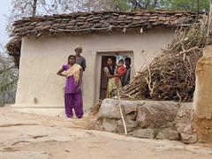 KhajurahoCycling072 (tjabeljan) Tags: india khajuraho cycling platteland village dorp