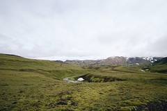 Iceland (Neza Peterca) Tags: landmannalaugar laugavegur iceland highlands outdoor trekking trek mountain hotspring landscape hiking ryholite glacier volcano moss snow rivercrossing river lake alftavatn hut mountainhut emstrur botnar