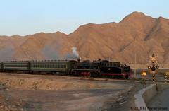 I_B_IMG_8137 (florian_grupp) Tags: asia china steam train railway railroad bayin lanzhou gansu desert landscape loess mountains sy ore mine 282 mikado steamlocomotive locomotive