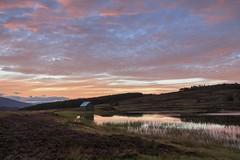Ptarmigan Bothy (Daniel Giza) Tags: kenmore ptarmigan bothy scotland landscape sunset water canon 50d tamron 18270 sky outdoor dusk reflection loch gloaming summer calm scottish perthshire mountain