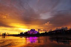 Weekend festival sunset (janar.maasing) Tags: weekend festival sunset baltic prnu beach sony hx90 hx90v rand meri taevas sea