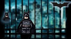 Batman Begins-Batman (Sir Prime) Tags: lego batmanbegins thedarkknight custom batman dc the dark knight trilogy moc