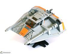 T-47 -- High Three Quarters View (Brickdoctor) Tags: lego star wars t47 snowspeeder