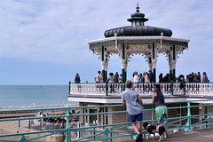 2016-08-14: Spectators (psyxjaw) Tags: brighton swing dance swingdancing dancing weekend jumpingattheseaside jumping seaside jats bandstand band stand beach