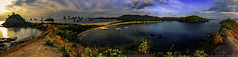 Nacpan-Calitang Twin Beach panorama (julesnene) Tags: 1022mm beach calitangbeach canon7dmark2 canon7dmarkii canonlensefs1022mmf3545usm elnido juliasumangil nacpanbeach nacpancalitangtwinbeach palawan philippines southeastasia dusk julesnene landscape nature panorama paradise sunset travel twin twinbeach whitesand mimaropa ph island