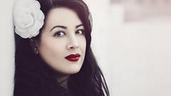 mia 02 (MargaritaP.) Tags: portrait portaits people beauty girl woman brunette red redlips snowwhite