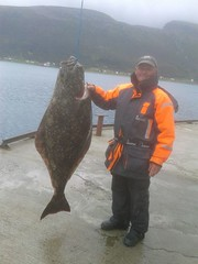 "Barry Moore 102lb Halibut • <a style=""font-size:0.8em;"" href=""http://www.flickr.com/photos/113772263@N05/29288386806/"" target=""_blank"">View on Flickr</a>"